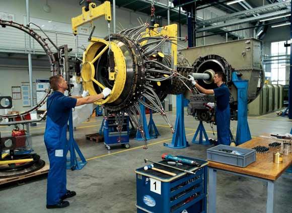 Сервисное обслуживание газотурбинных двигателей в России.