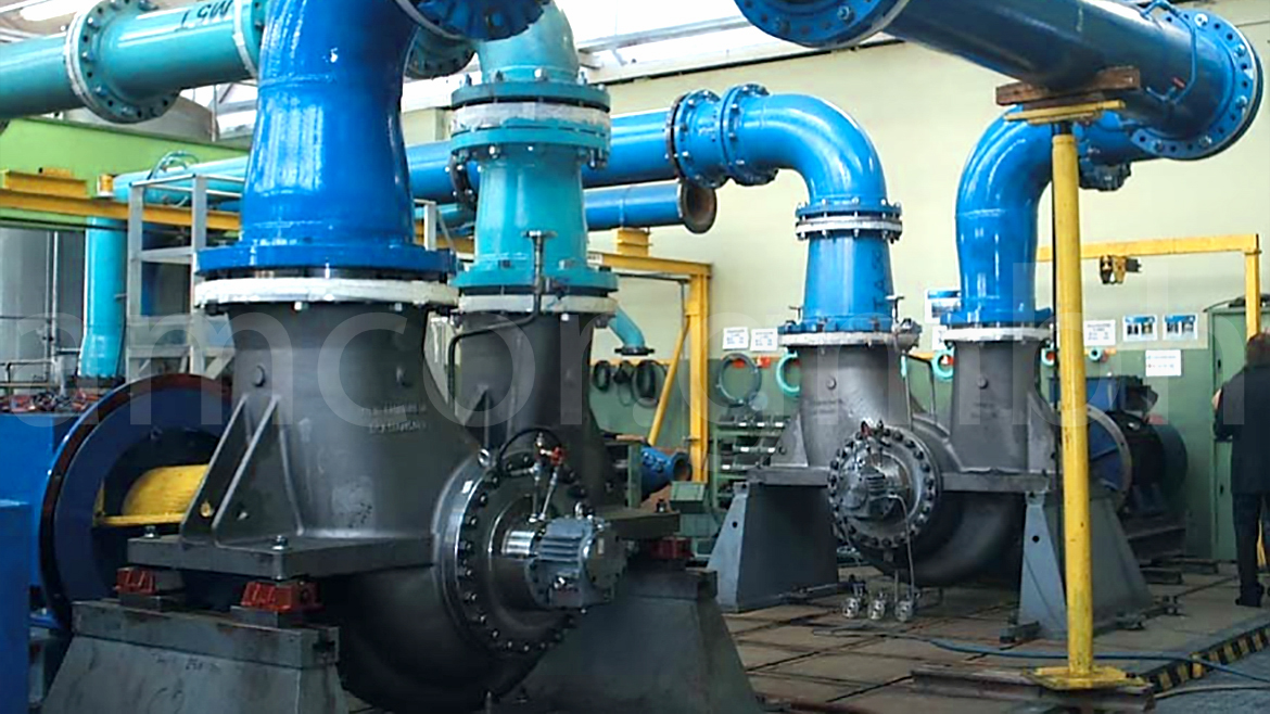 Between bearing centrifugal pump