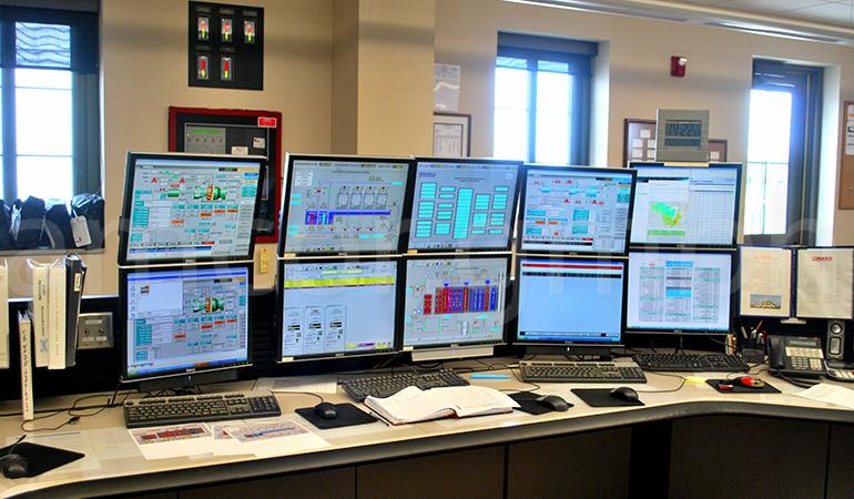 Monitoring of the gas turbine unit