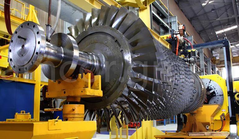 Remote monitoring of the gas turbine unit