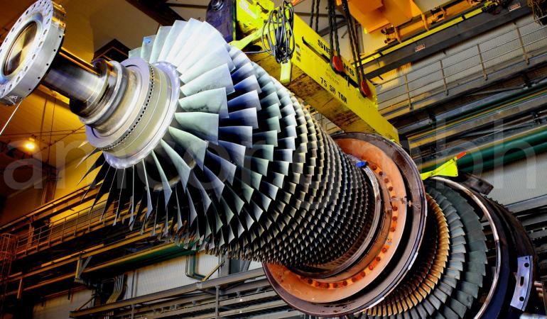Repair of the gas turbine unit