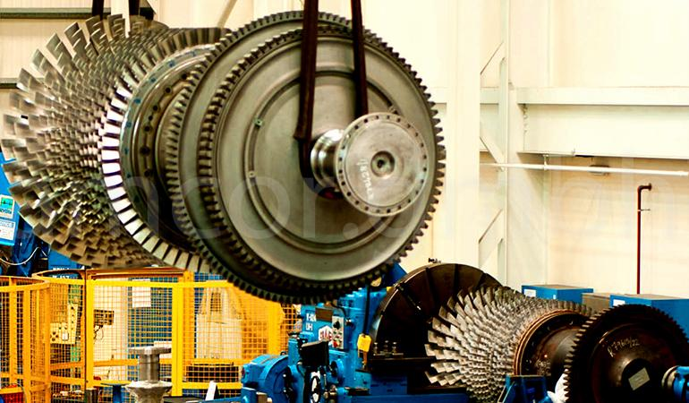 Maintenance of the gas turbine unit