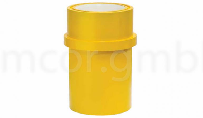 Cylinder liners with zirconia ceramics sleeve